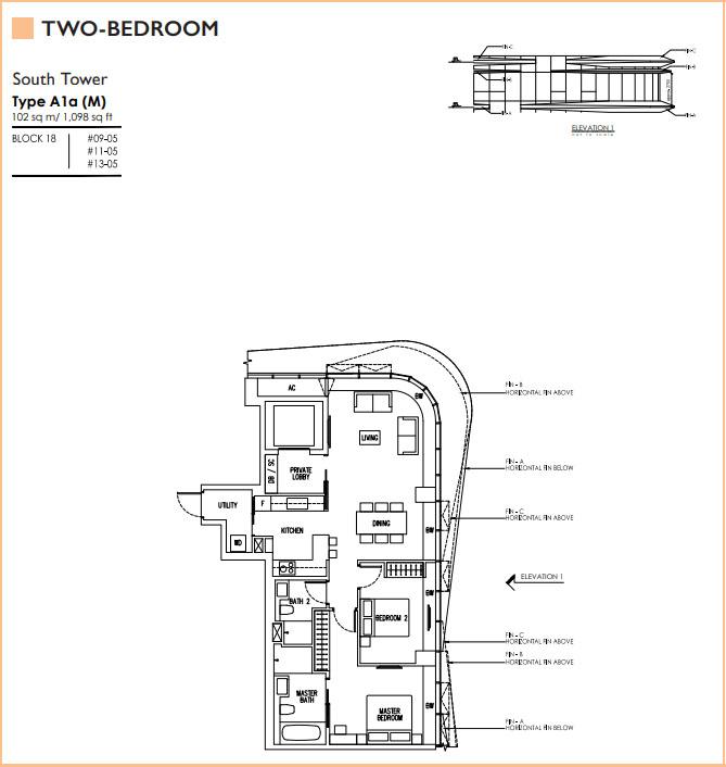New Futura Floorplans Units Mix